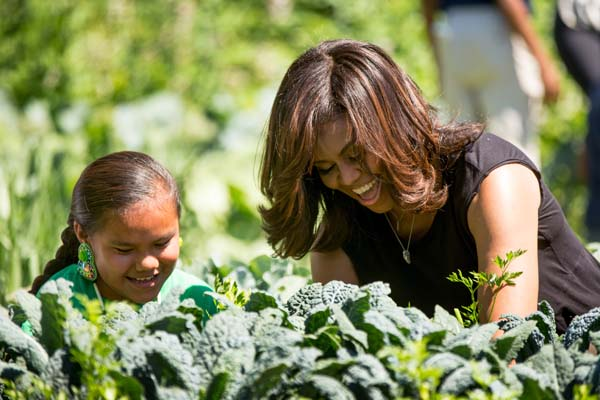 "<div class=""meta image-caption""><div class=""origin-logo origin-image ap""><span>AP</span></div><span class=""caption-text"">First lady Michelle Obama harvests the White House Kitchen Garden, June 6, 2016, at the White House in Washington. (AP Photo/Andrew Harnik)</span></div>"