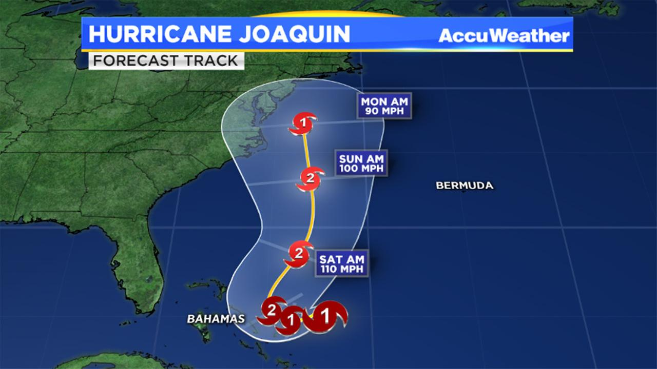 Tropical storm joaquin has strengthened into a hurricane