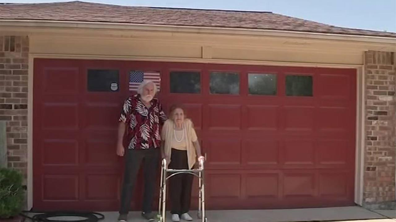 Great grandmother battles homeowners 39 association over for Abc garage doors houston