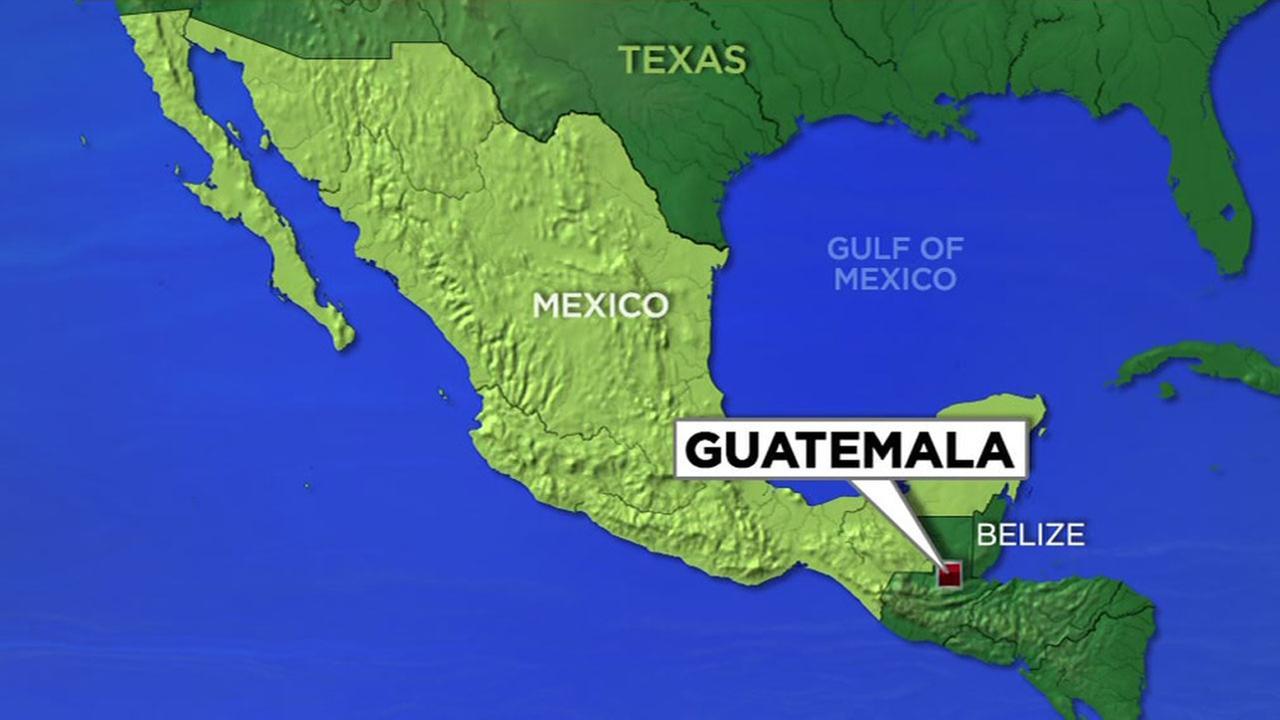 Guatamala map generic