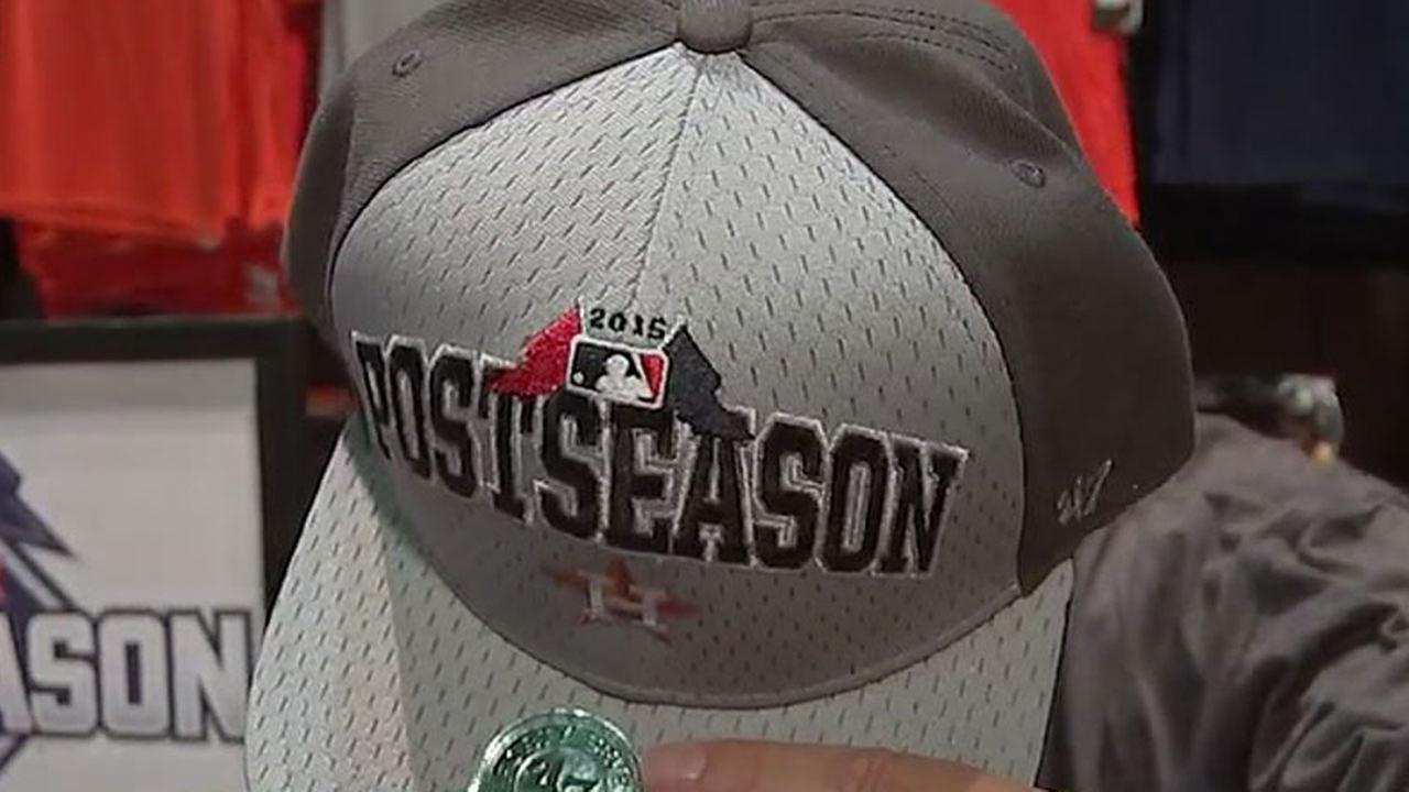 Houston Astros playoff post-season gear