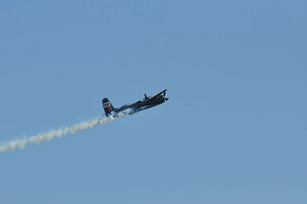 <div class='meta'><div class='origin-logo' data-origin='none'></div><span class='caption-text' data-credit='abc13/Gina Larson'>The 31st annual Wings Over Houston air show thrilled spectators at Ellington Airport, October 17-18, 2015.</span></div>