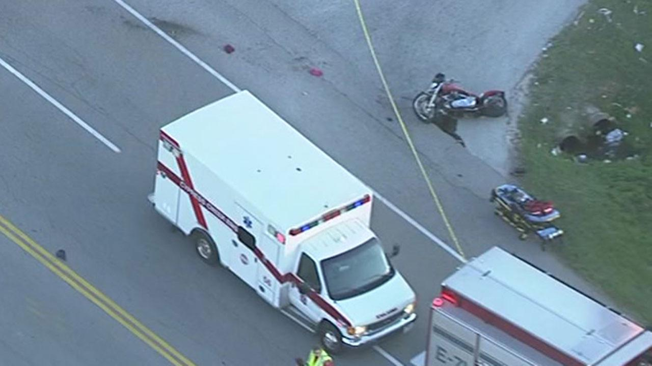 Fatal motorcycle accident in Spring
