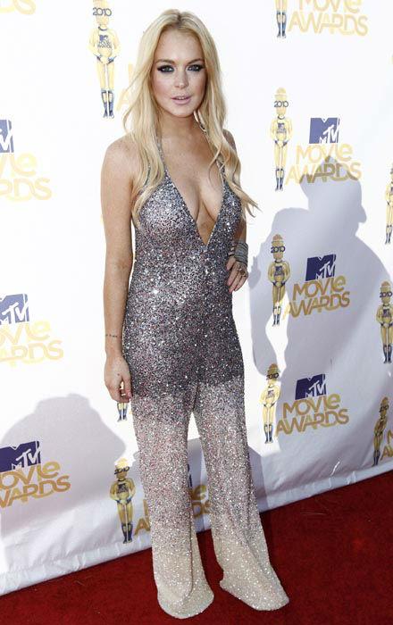 "<div class=""meta image-caption""><div class=""origin-logo origin-image none""><span>none</span></div><span class=""caption-text"">FILE - In this June 6, 2010 file photo, Lindsay Lohan arrives at the MTV Movie Awards in Universal City, Calif.   (AP Photo/ Matt Sayles)</span></div>"