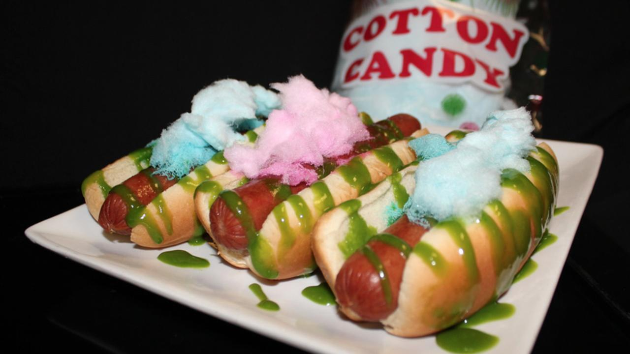 Sweet Spot Cotton Candy Dog