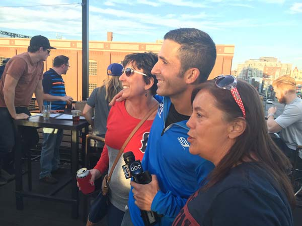 <div class='meta'><div class='origin-logo' data-origin='KTRK'></div><span class='caption-text' data-credit='KTRK'>Eyewitness News' David Nuno met Texans fans at a Denver bar</span></div>