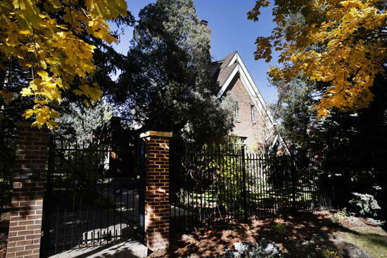 <div class='meta'><div class='origin-logo' data-origin='none'></div><span class='caption-text' data-credit='Photo/Brennan Linsley'>The Ramsey home in Boulder, CO, is where JonBenet Ramsey was found dead in the basement.</span></div>