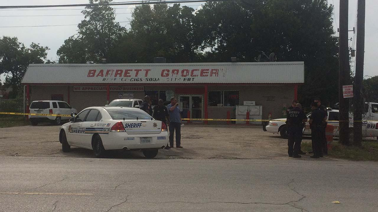 Barrett Grocery in Crosby