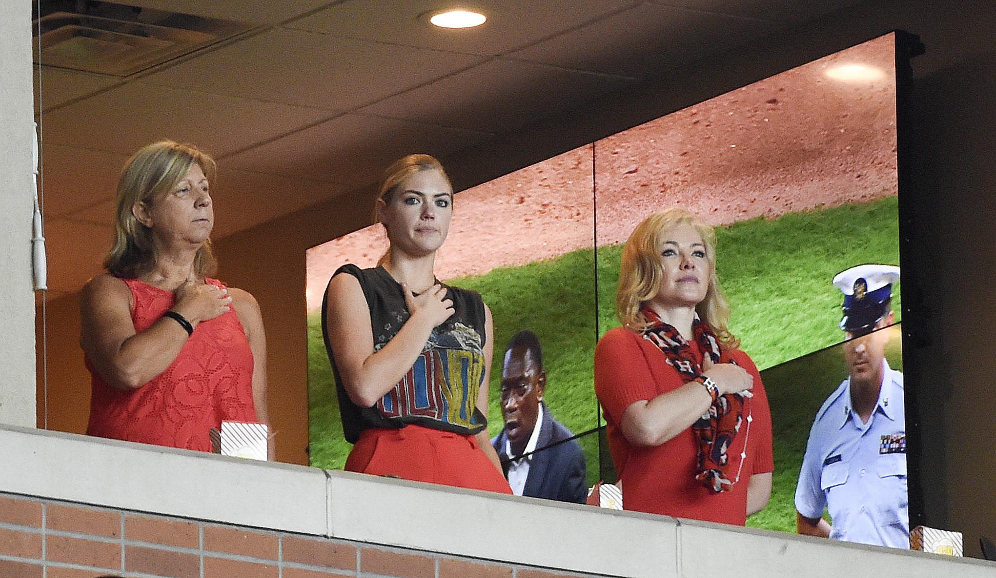 <div class='meta'><div class='origin-logo' data-origin='AP'></div><span class='caption-text' data-credit='AP'>The outfits of Kate Upton during Astros games</span></div>