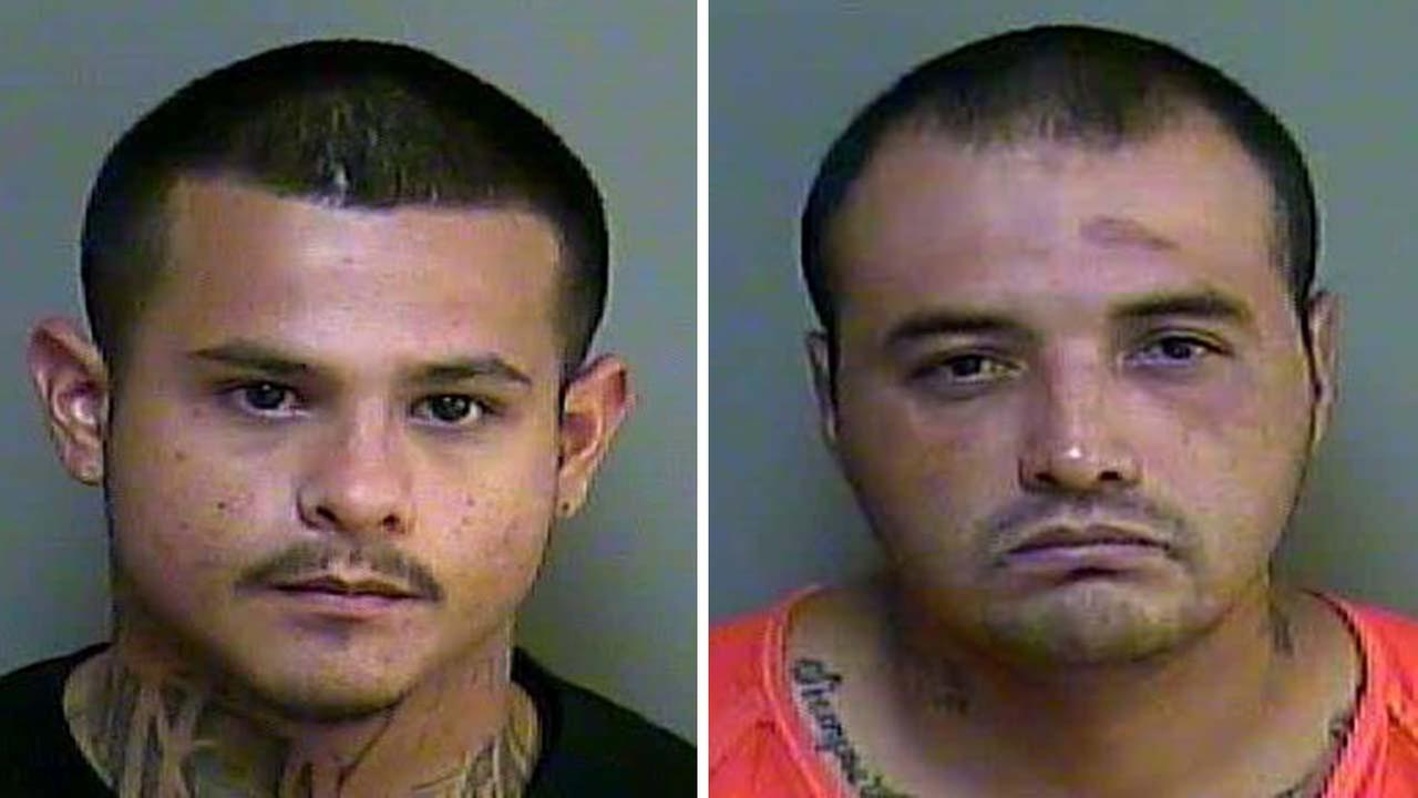 Felix Lee Perez, left, and Presciliano Pres Martinez were arrested in this case