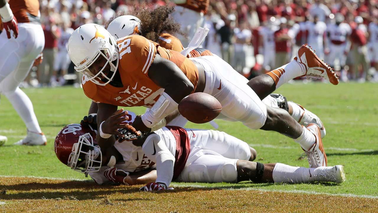 Oklahoma and Texas Longhorns football