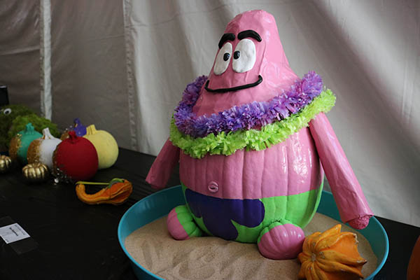 "<div class=""meta image-caption""><div class=""origin-logo origin-image ktrk""><span>KTRK</span></div><span class=""caption-text"">This is Patrick the Star, a character on Spongebob Squarepants, made out of a pumpkin as part of Adcetera's 19th annual pumpkin carving contest.</span></div>"