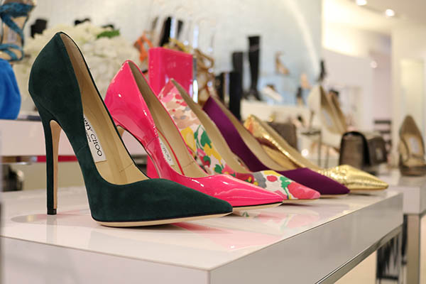 <div class='meta'><div class='origin-logo' data-origin='KTRK'></div><span class='caption-text' data-credit=''>Shoes are ready for customization at Tootsie's in Houston during a two-day event where customers can choose how to create their own Jimmy Choos footwear.</span></div>