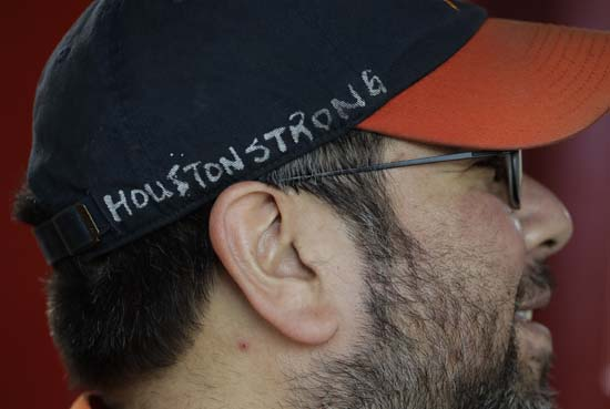 <div class='meta'><div class='origin-logo' data-origin='AP'></div><span class='caption-text' data-credit='AP'>Bobby Vasquez operates a train in and around Minute Maid Park before Game 4 of baseball's World Series between the Houston Astros and the Los Angeles Dodgers. (AP Photo/Eric Gay)</span></div>
