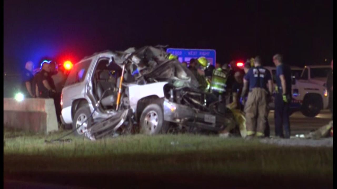Wrong way driver fighting for life after Montgomery County accident