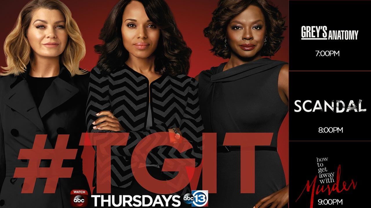 Thursday night shows #TGIT