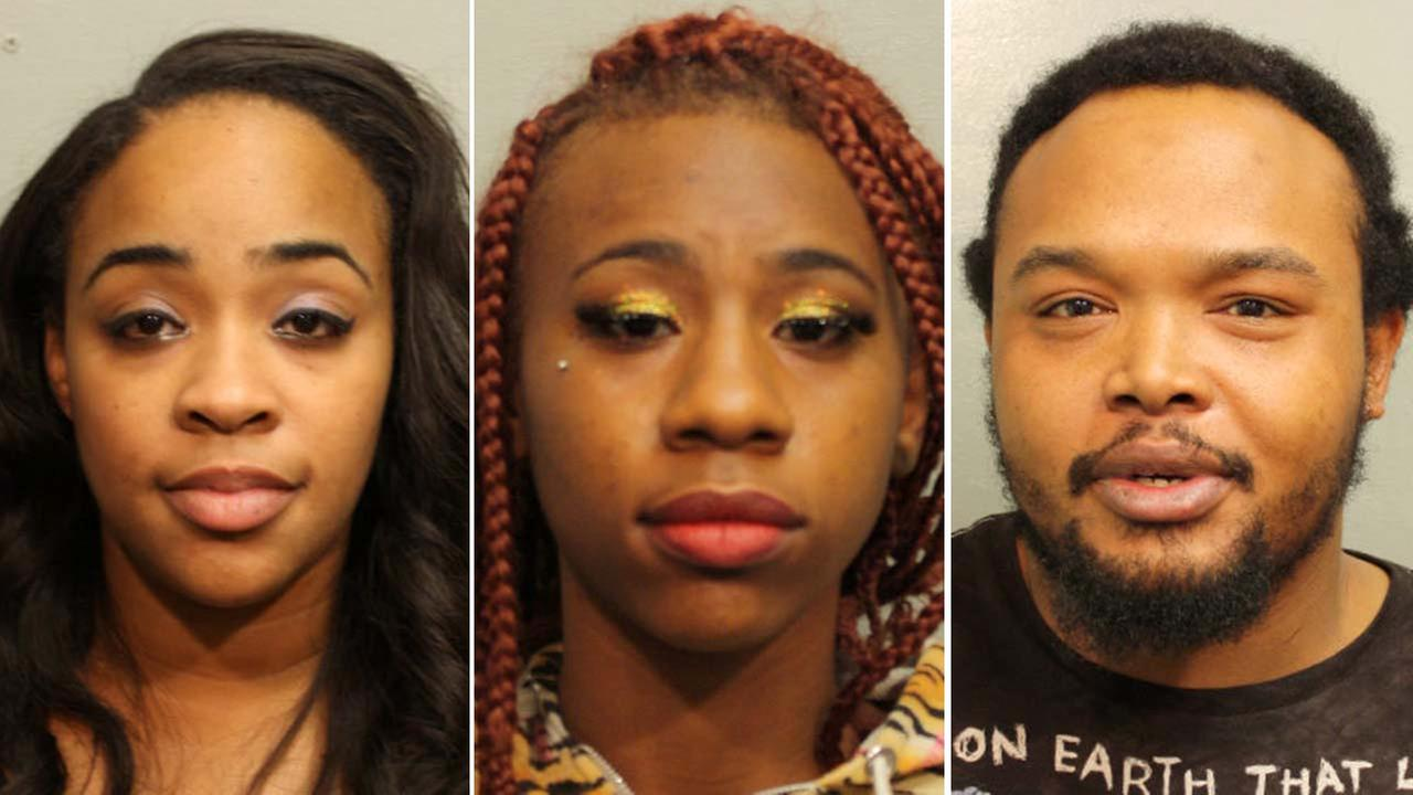 Prostitution bust arrests