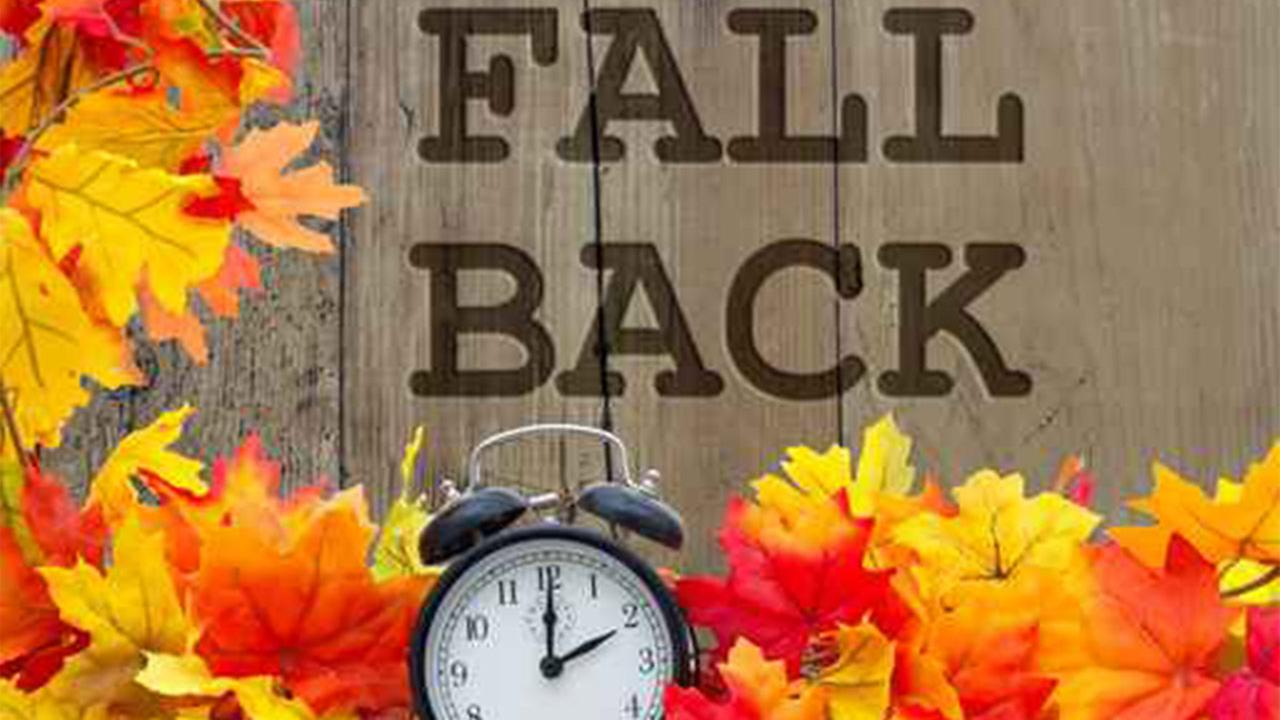 Get ready to 39 fall back 39 and change your clocks this for Getting ready for fall