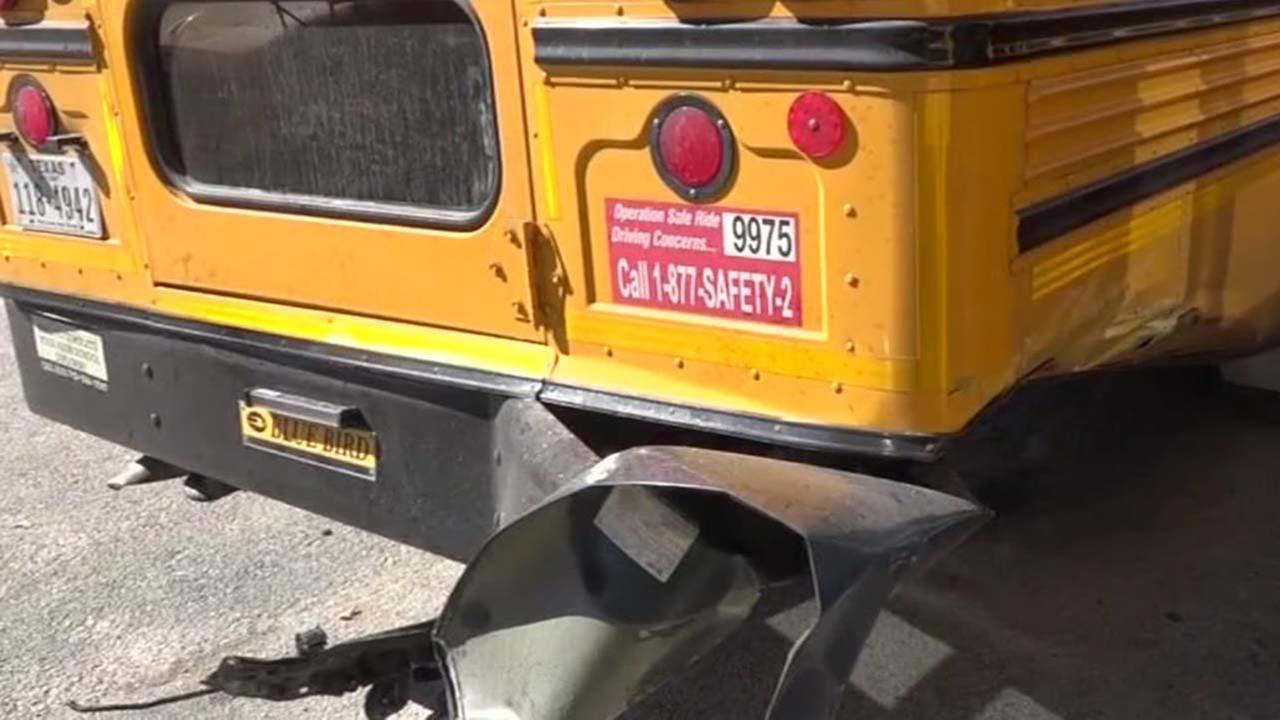 Bus crash in Harris County