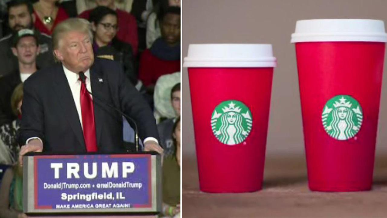 Donald Trump and Starbucks