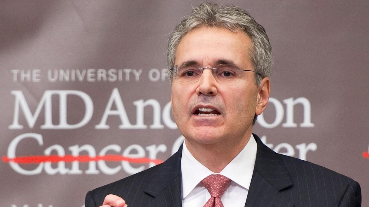 The University of Texas MD Anderson Cancer Center President Ronald DePinho