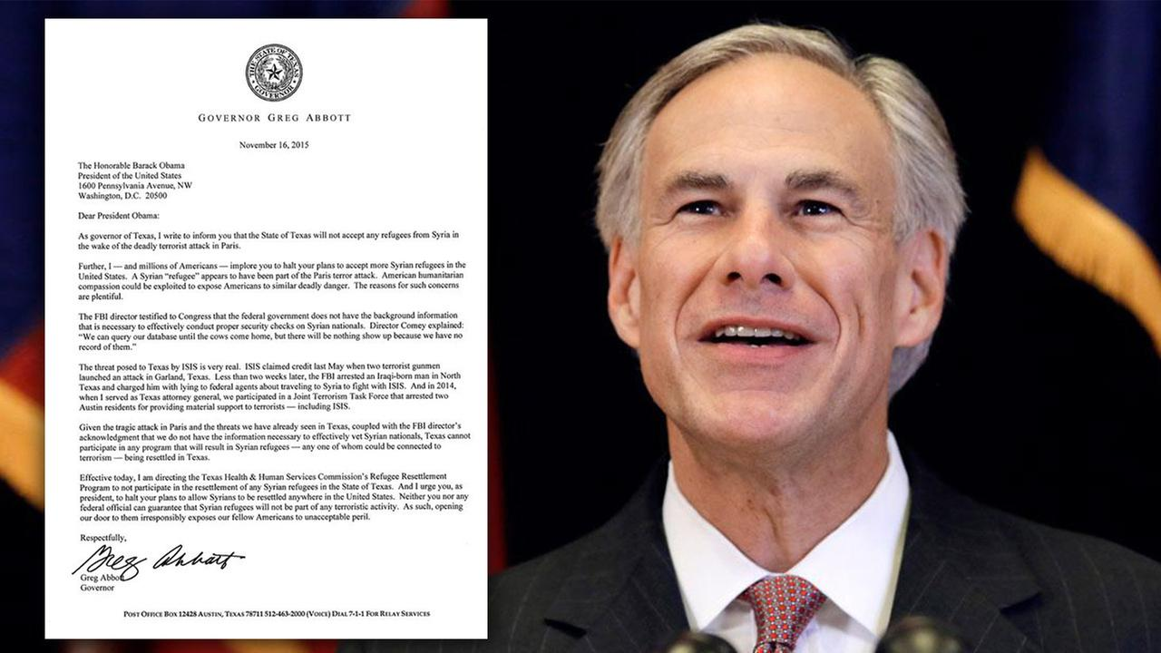 Governor Greg Abbotts open letter to President Obama