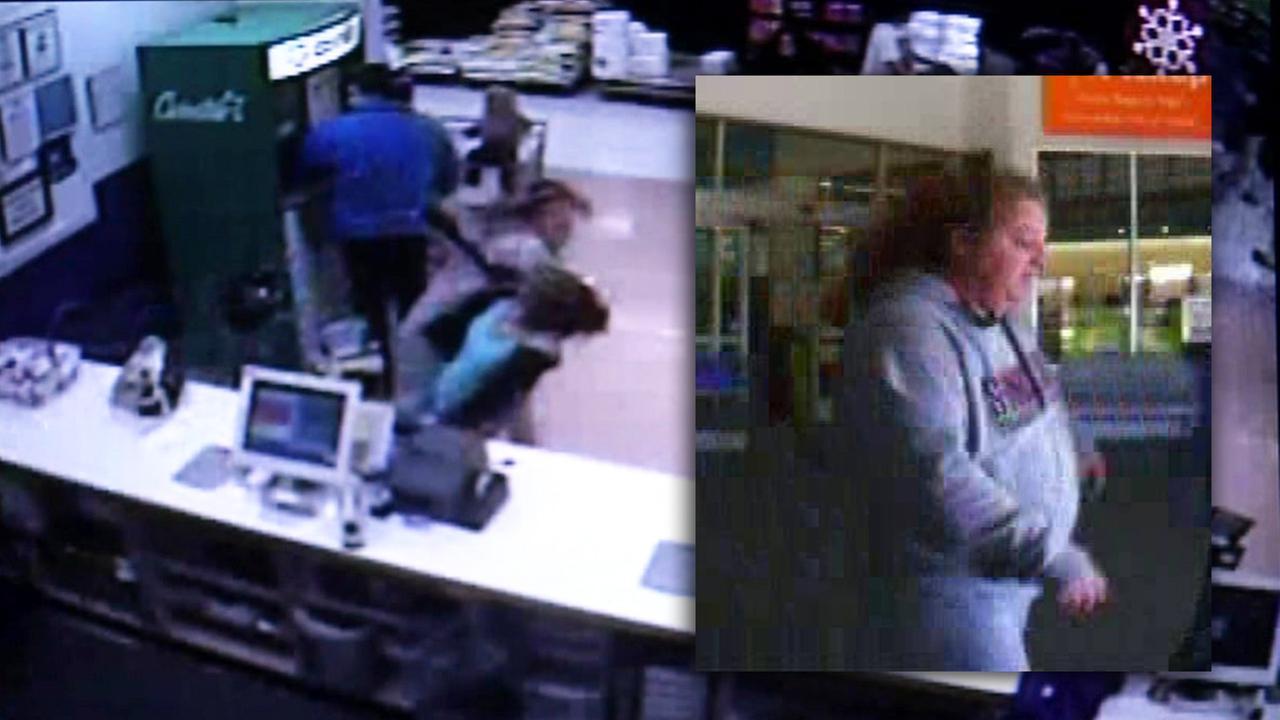 Walmart attack suspect