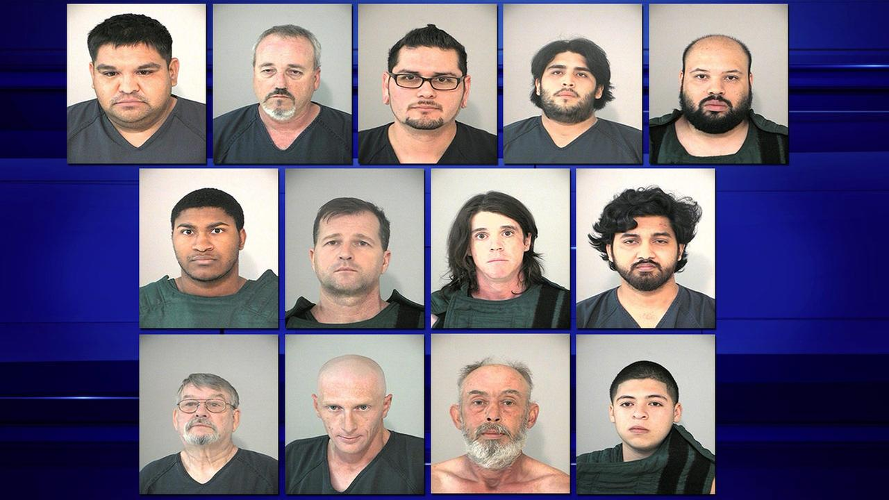 Sex sting suspects
