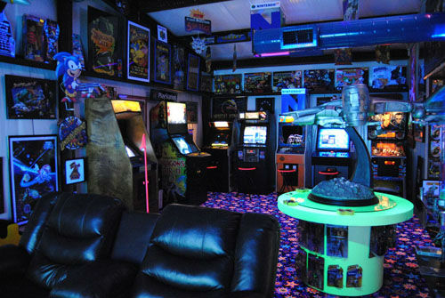 <div class='meta'><div class='origin-logo' data-origin='none'></div><span class='caption-text' data-credit=''>Barry Evans from Dayton, Texas has created the Ultimate Game Room in his own backyard.</span></div>