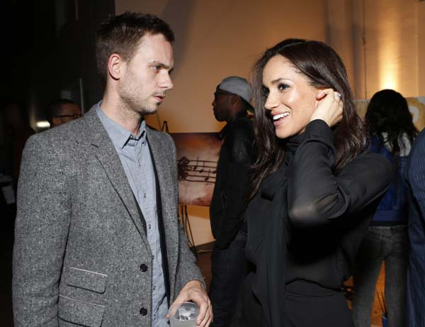 """<div class=""""meta image-caption""""><div class=""""origin-logo origin-image ap""""><span>AP</span></div><span class=""""caption-text"""">Patrick Adams and Meghan Markle attend the 3rd Annual Witness Uganda Concert (Todd Williamson/Invision/AP)</span></div>"""