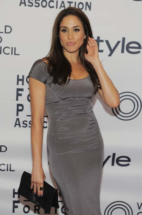 """<div class=""""meta image-caption""""><div class=""""origin-logo origin-image ap""""><span>AP</span></div><span class=""""caption-text"""">Actress Meghan Markle pose together at the 13th Annual InStyle and Hollywood Foreign Press Association Toronto International Film Festival Party (Chris Pizzello/Invision/AP)</span></div>"""