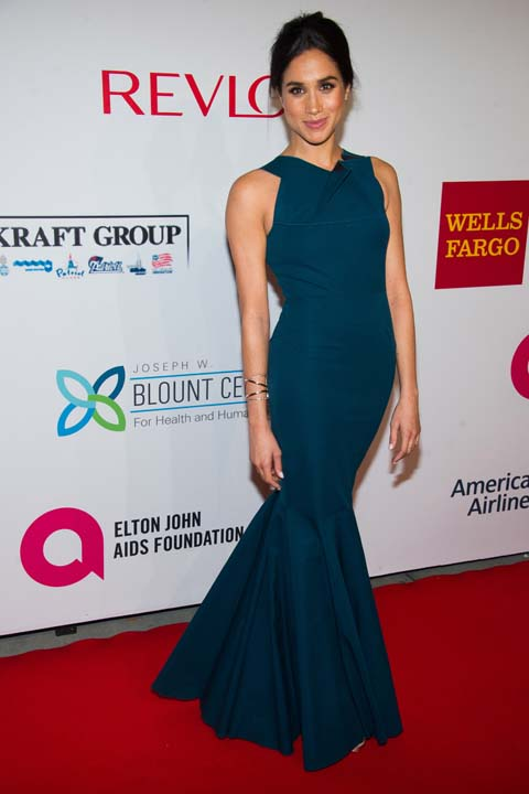 """<div class=""""meta image-caption""""><div class=""""origin-logo origin-image ap""""><span>AP</span></div><span class=""""caption-text"""">Meghan Markle attends the Elton John AIDS Foundation's 13th Annual """"An Enduring Vision"""" benefit (Charles Sykes/Invision/AP)</span></div>"""