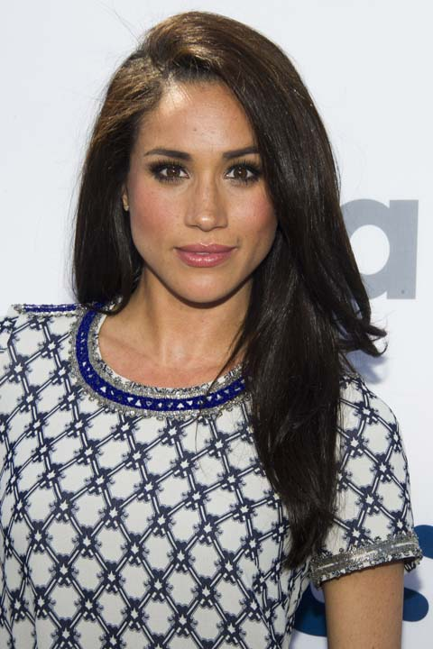 """<div class=""""meta image-caption""""><div class=""""origin-logo origin-image ap""""><span>AP</span></div><span class=""""caption-text"""">Meghan Markle attends the USA Network Upfront on Thursday, May 16, 2013 in New York. (Charles Sykes/Invision/AP)</span></div>"""