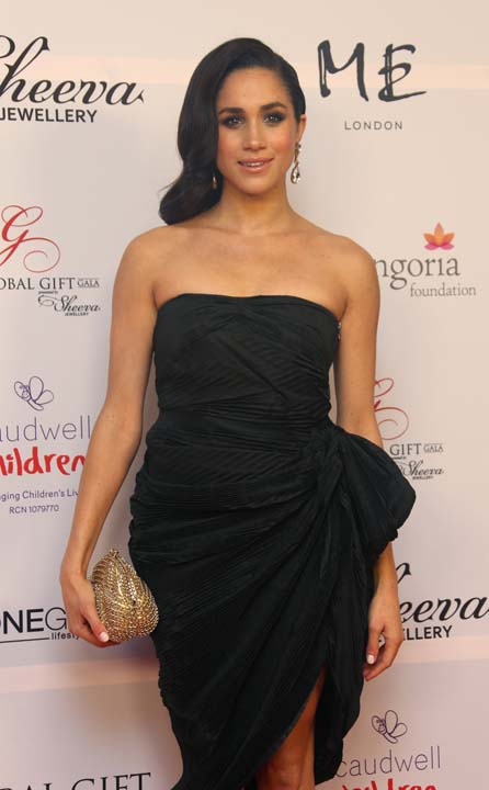 """<div class=""""meta image-caption""""><div class=""""origin-logo origin-image ap""""><span>AP</span></div><span class=""""caption-text"""">US actress Meghan Markle arrives for the Global Gift Gala evening at a central London hotel on the Strand (Joel Ryan/Invision/AP)</span></div>"""