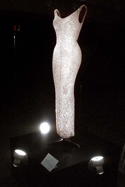 <div class='meta'><div class='origin-logo' data-origin='AP'></div><span class='caption-text' data-credit='AP'>Marilyn Monroe's 'Happy Birthday, Mr. President' dress on display at Christie's in New York</span></div>