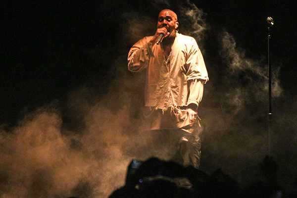 <div class='meta'><div class='origin-logo' data-origin='AP'></div><span class='caption-text' data-credit='Rich Fury/Invision/AP'>Kanye West performs during FYF Fest on Saturday, Aug. 22, 2015, in Los Angeles. (Photo by Rich Fury/Invision/AP)</span></div>