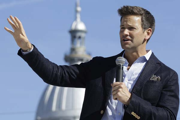 <div class='meta'><div class='origin-logo' data-origin='AP'></div><span class='caption-text' data-credit='AP Photo/Seth Perlman'>U.S. Rep. Aaron Schock, R-Ill., speaks in support of Republican gubernatorial candidate Bruce Rauner during a campaign rally.</span></div>