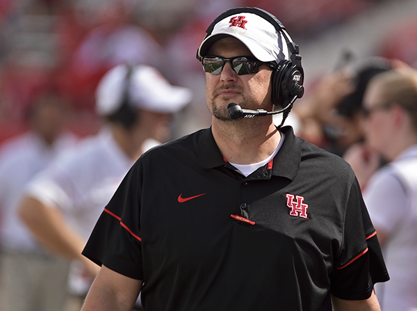 <div class='meta'><div class='origin-logo' data-origin='AP'></div><span class='caption-text' data-credit='AP'>Houston head coach Tom Herman watches from the sidelines during the second half of an NCAA college football game against Central Florida.</span></div>