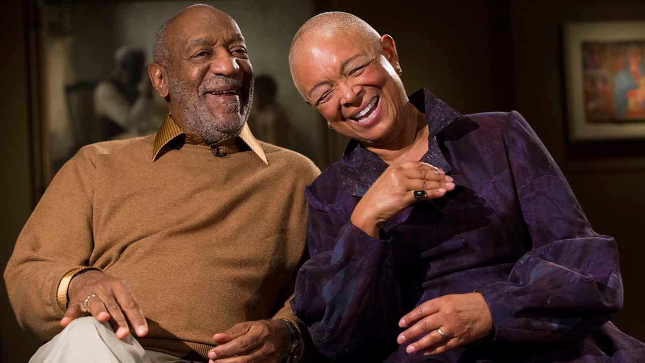 In this Nov. 6, 2014, file photo, entertainer Bill Cosby, left, and his wife, Camille.
