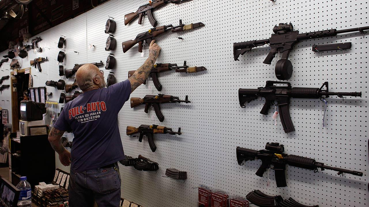 gun dealer Mel Bernstein