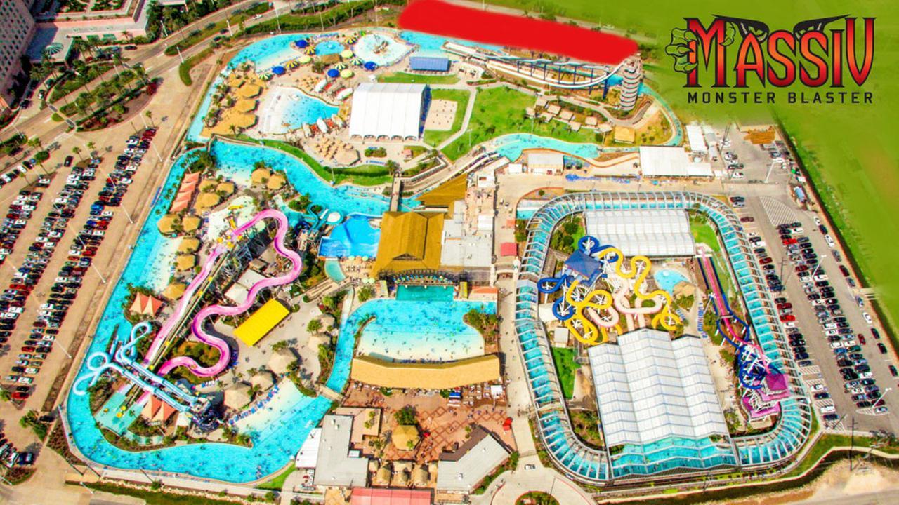 Massiv water rollercoaster