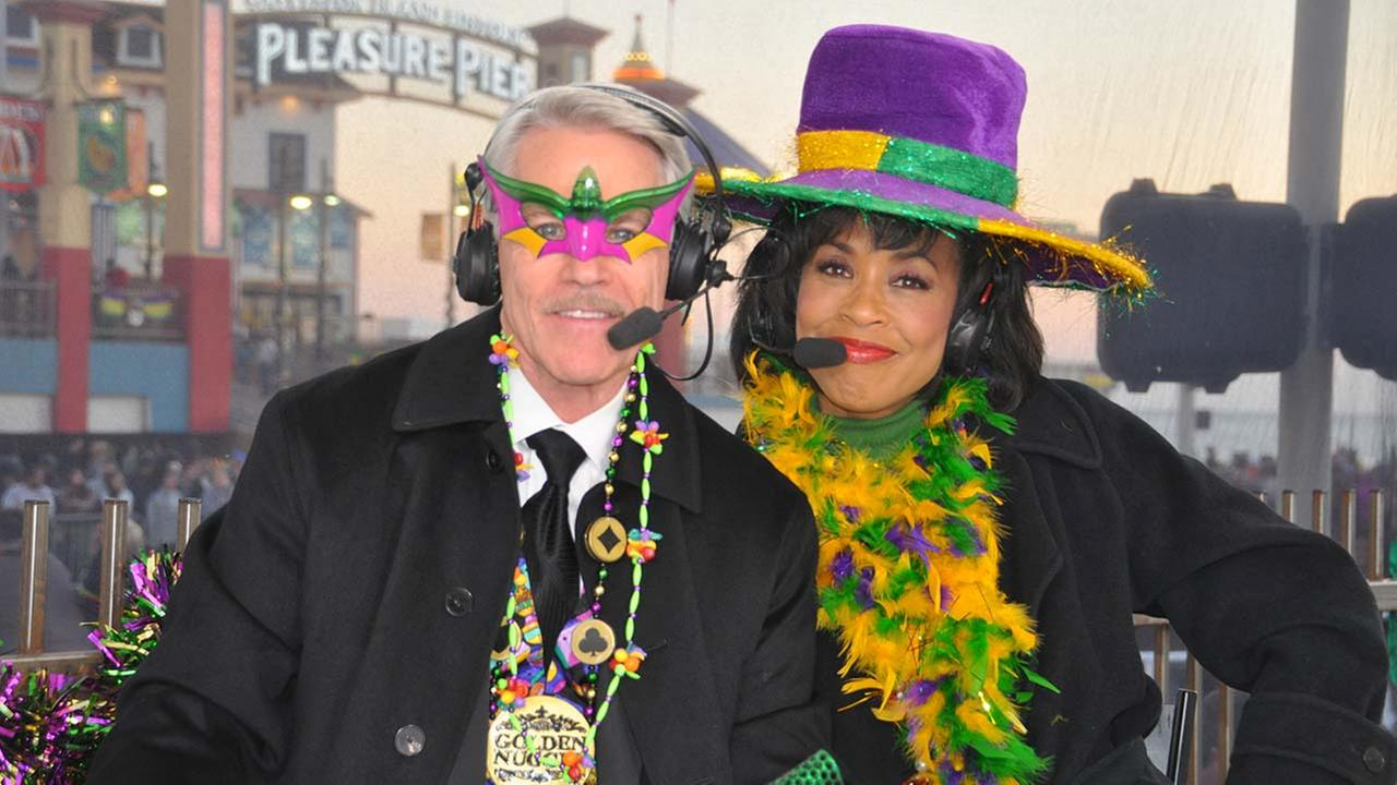 Mardi Gras - Tom and Gina
