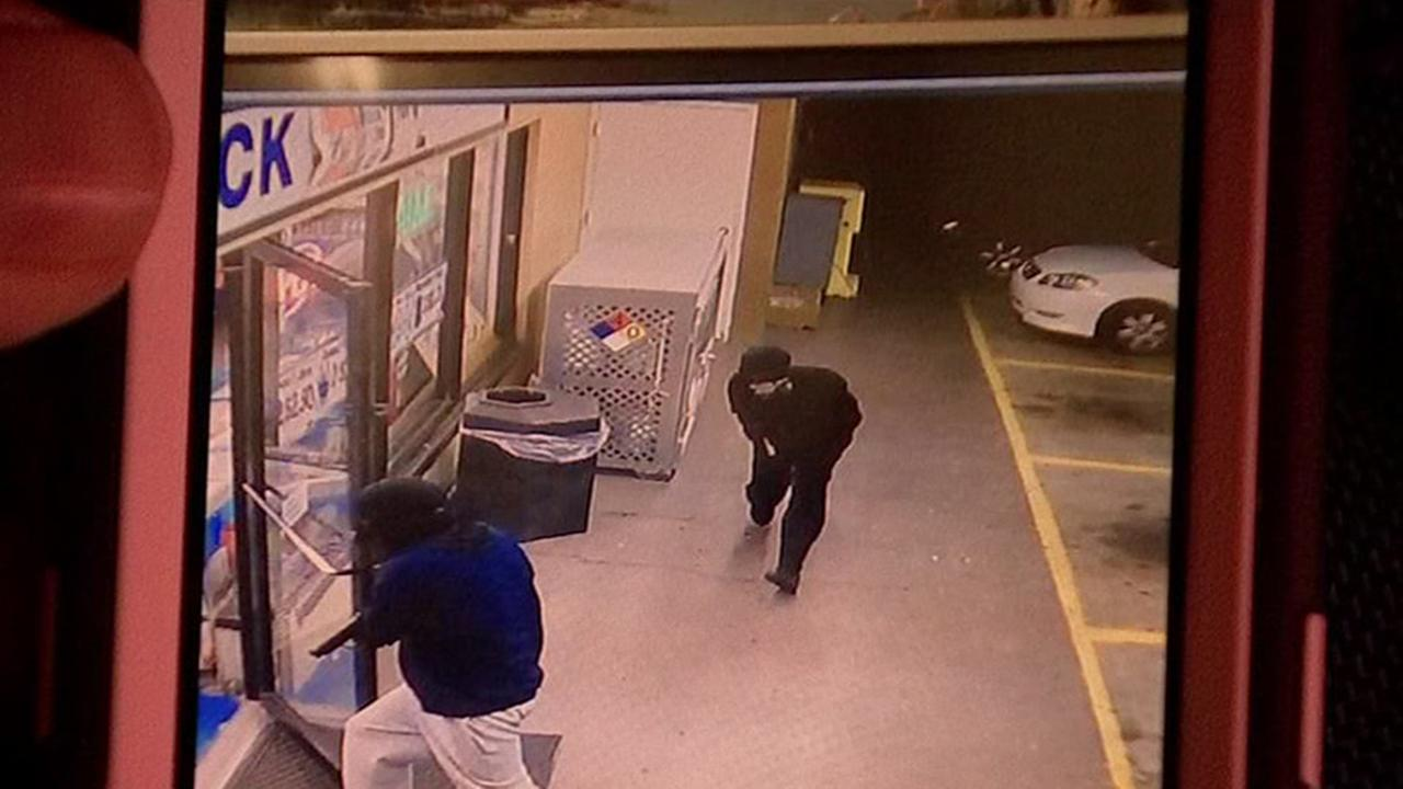 Surveillance of robbery