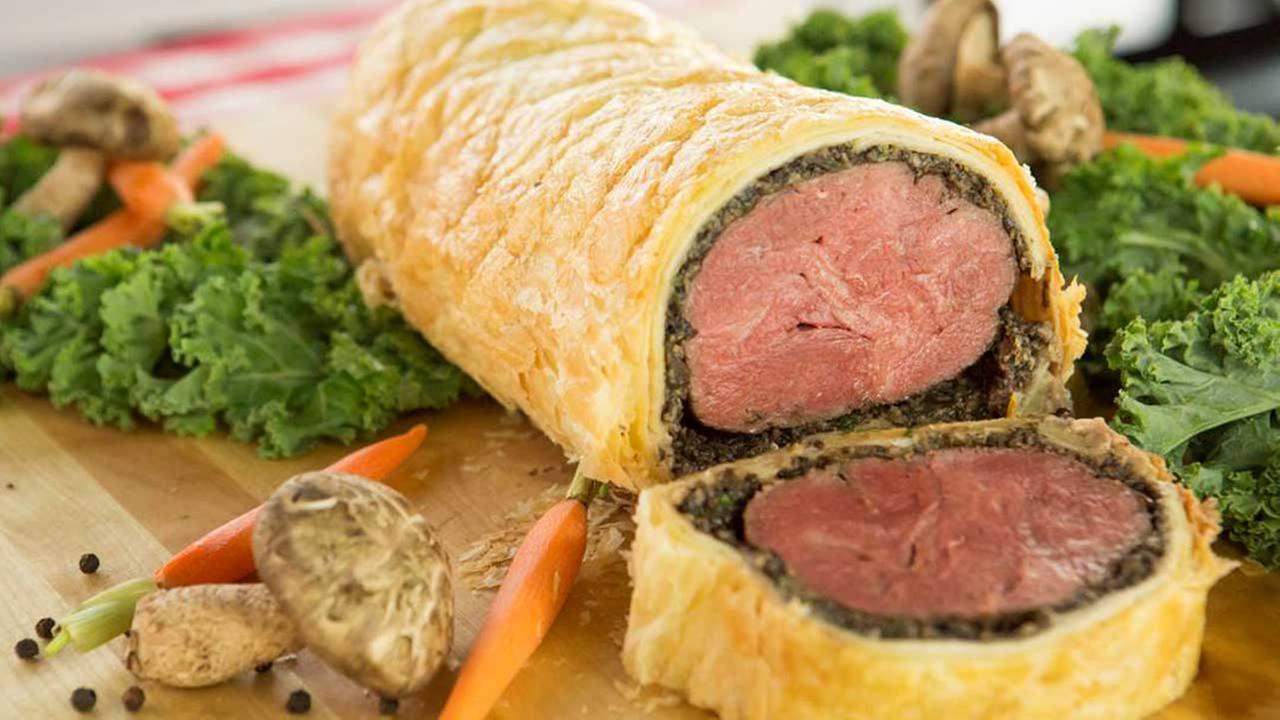 Beef Wellington at B&B Butchers