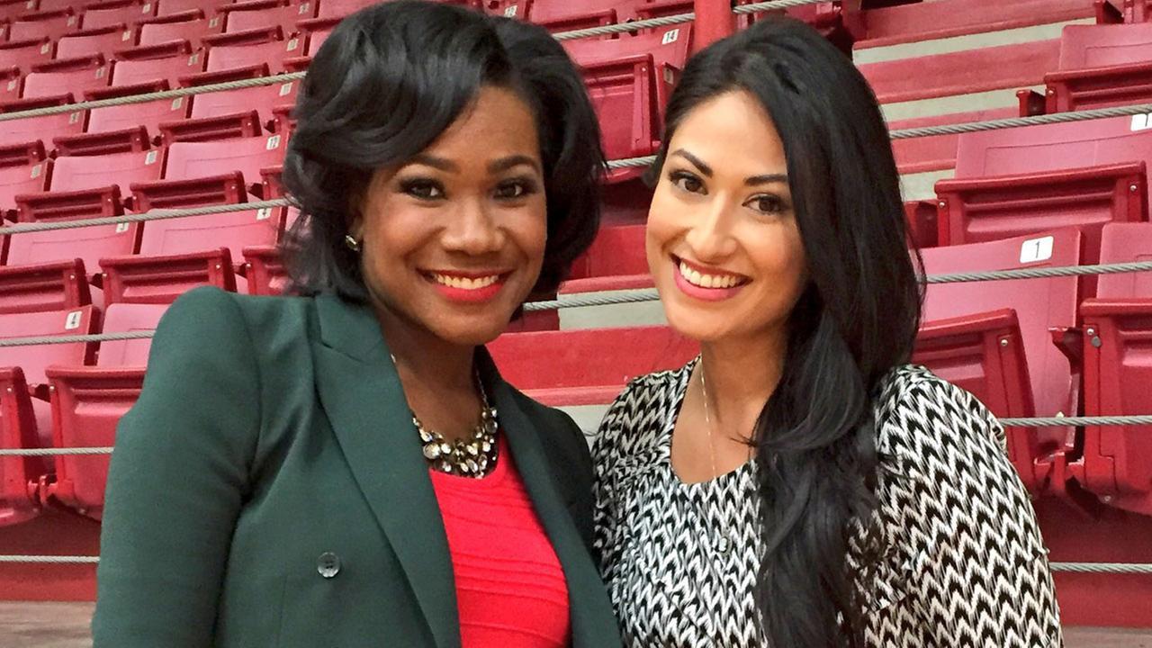 Samica Knight and Mayra Moreno