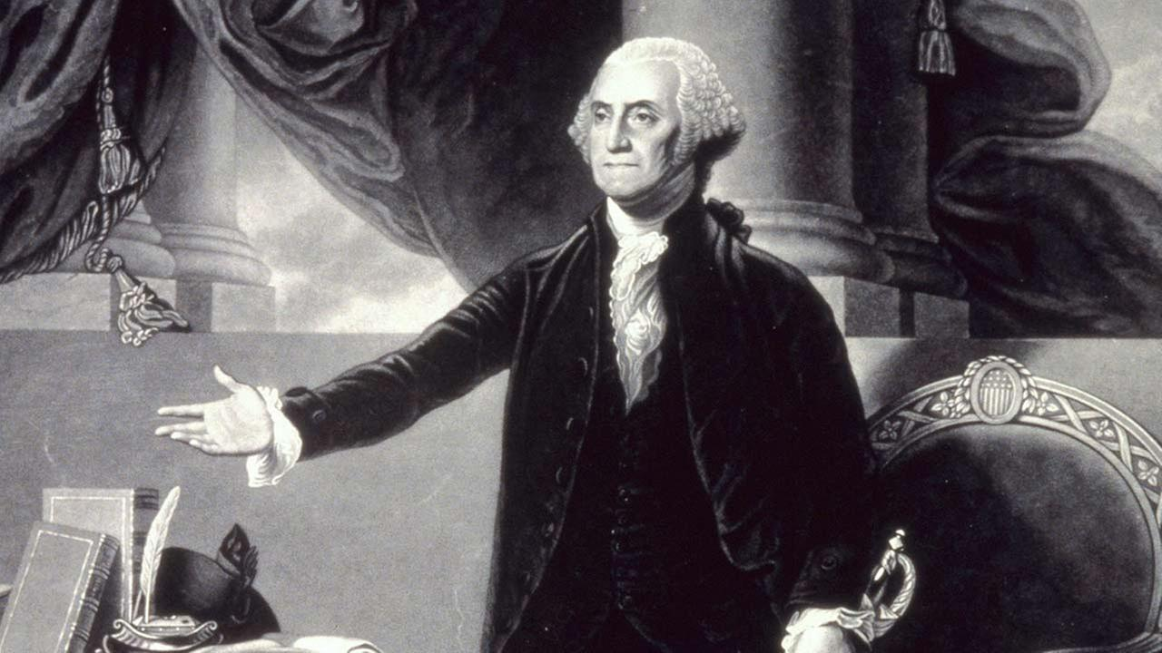 George Washingtons worth is figured out to be $525 million in modern US dollars. (AP Photo)