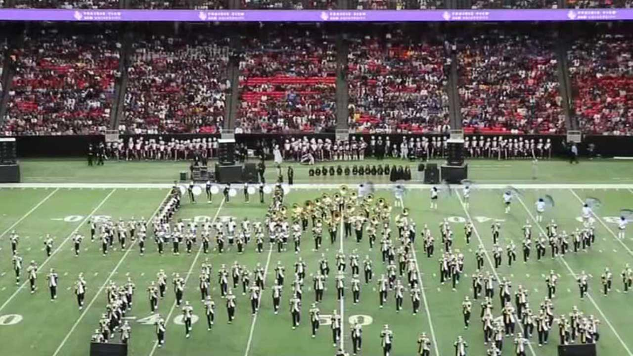 Prairie View A&M Universitys Marching Storm band voted 2015 HBCU Band of the Year