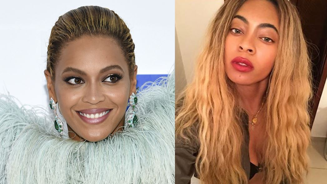 <div class='meta'><div class='origin-logo' data-origin='none'></div><span class='caption-text' data-credit=''>Brittany Williams can easily be mistaken for pop icon Beyonce. Can you tell them apart?</span></div>