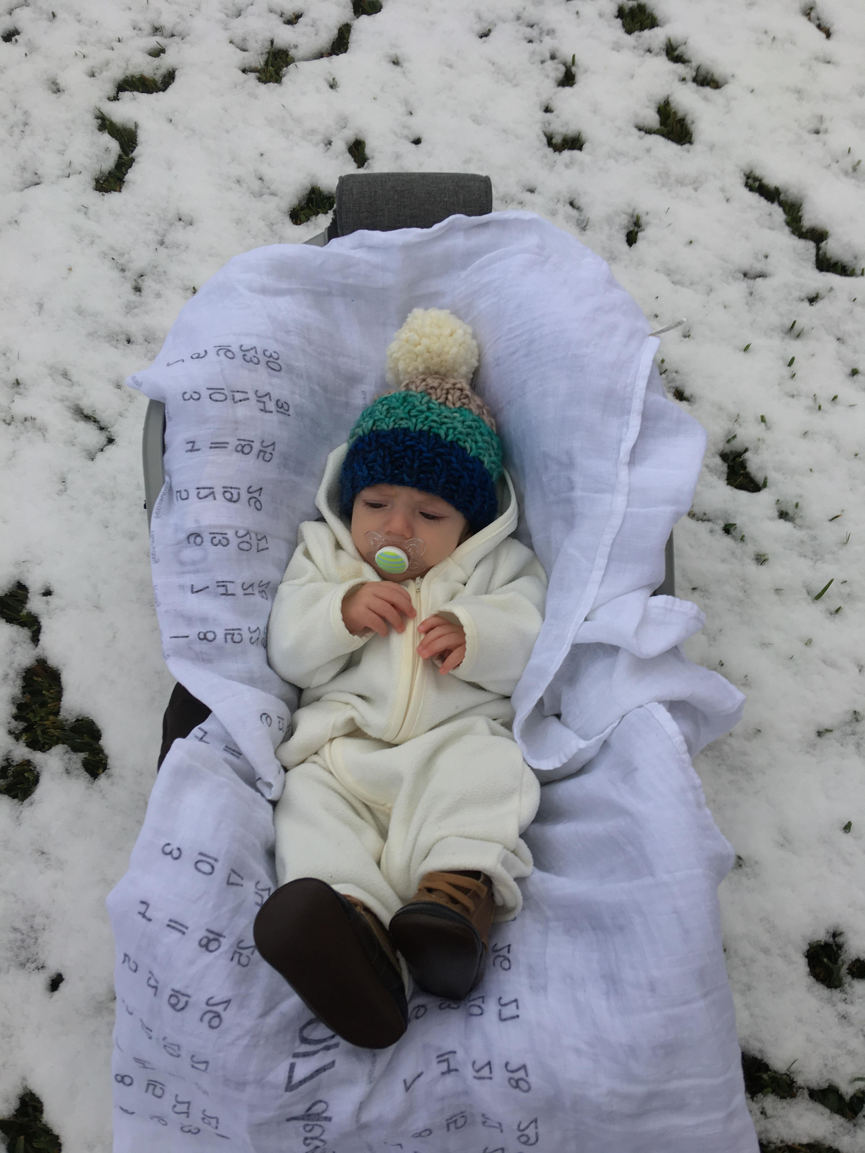<div class='meta'><div class='origin-logo' data-origin='none'></div><span class='caption-text' data-credit=''>From Harvey baby to snow baby, Michael enjoys his first snowfall</span></div>
