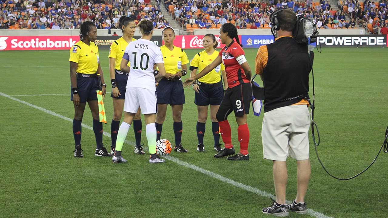 Scenes from the CONCACAF Womens Olympic Qualifying Championship semifinal matches at BBVA Compass Stadium.Kirk Sowers